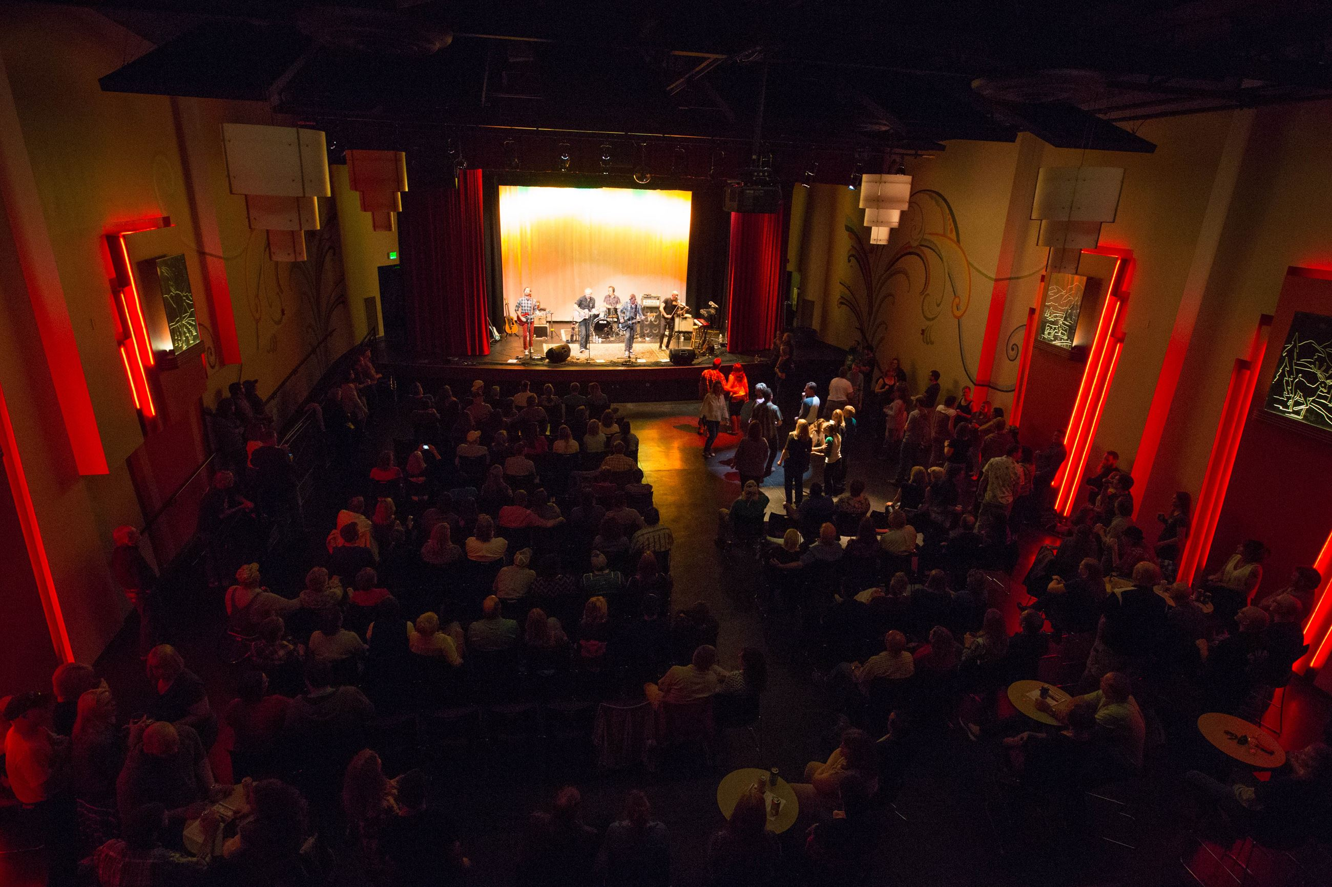 Concert at the Ute Theater in Downtown Rifle
